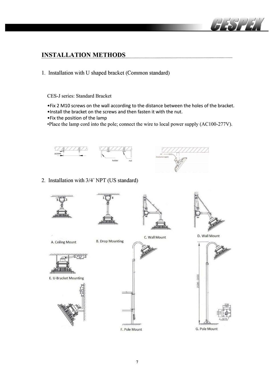 Datasheet of ATEX UL LED explosion proof lights__7