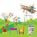 DIY Bloques de Construcción Palo Inteligente Bloques De Plástico ensambladas Niños Imagenation y Creatividad Juguetes de Aprendizaje Educativo