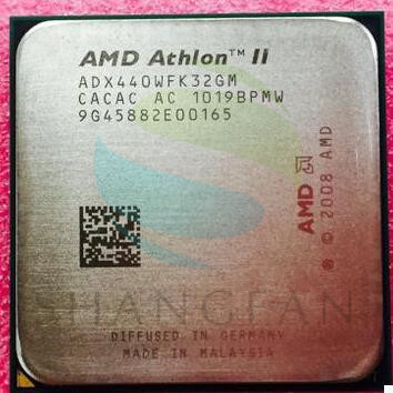 AMD Athlon II X3 440 3 ghz Triple Core Processeur ADX440WFK32GM ADX440WFK32GI Prise AM3 938PIN