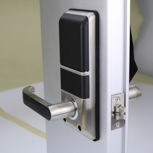 Image 3 - אלקטרוני דלת מנעול מתקדם חכם זיהוי פנים דלת מנעול אבטחה דיגיטלי מגע מסך Keyless פנים חכם דלת מנעול