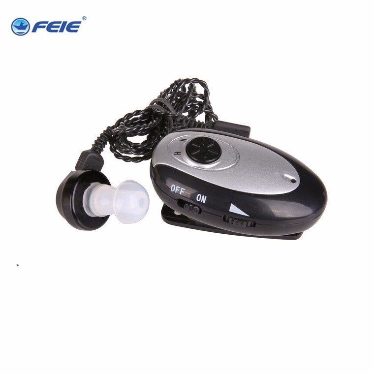 S-80 Pocket Type hearing aid deaf equipment  with volume adjustment portable listening mahcine Drop Shipping 2016 New product guangzhou feie deaf rechargeable hearing aids mini behind the ear hearing aid s 109s free shipping