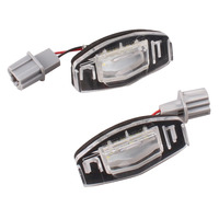 New Arrival 2x 18 LED 3528 SMD Number License Plate Light For Honda Civic City Legend