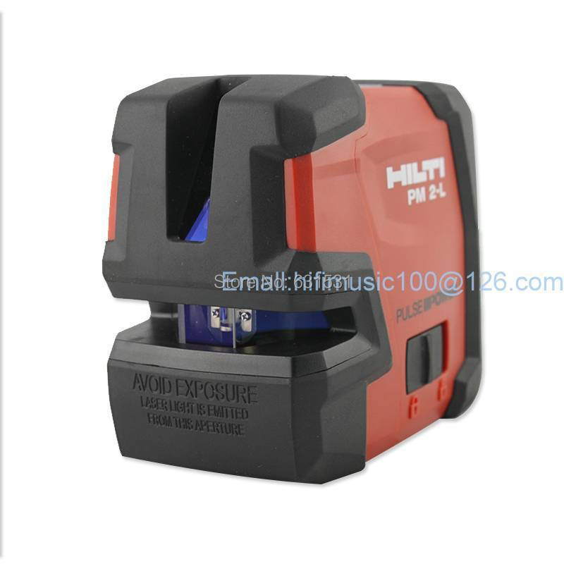 The Hilti Level | multi-the laser | flat line instrument | Hilti line instrument line projectors PM-2L holding the line