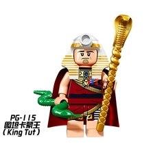 Única Venda de super-heróis de star wars do Rei Tut Egito Série modelo de blocos de construção tijolos brinquedos para as crianças brinquedos menino