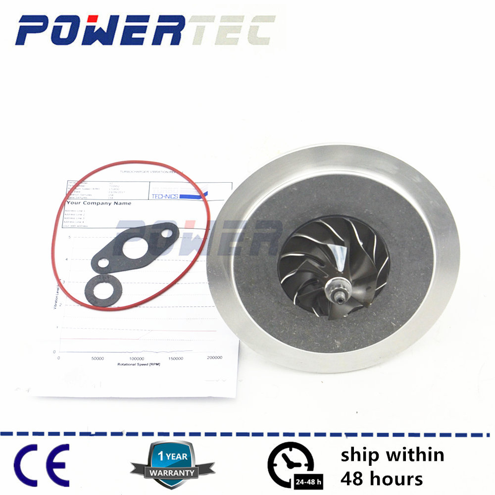 Balanced turbo repair kit GT1752S turbo core assembly CHRA turbine cartridge 733952 for KIA SORENTO 2.5 CRDI D4CB 103 KW 2002- turbo cartridge chra core gt1752s 733952 733952 5001s 733952 0001 28200 4a101 282004a101 for kia sorento crdi 2002 07 d4cb 2 5l