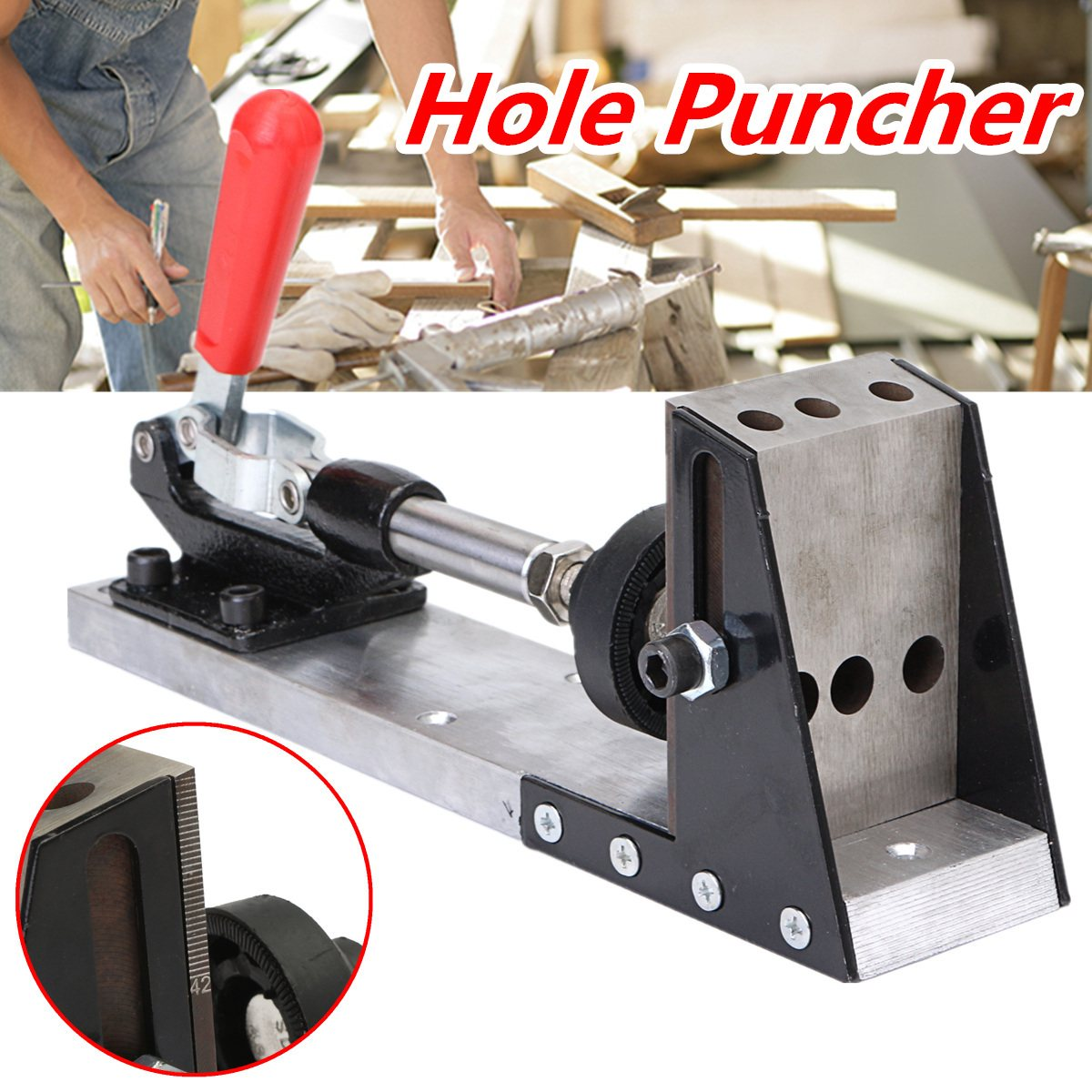 New Woodworking Tool Pocket-Hole Puncher Jig Drill Guide Master Kit Carpenter Joinery System Woodworking Plug Cut Tool футболка il gufo il gufo il003ebrho84
