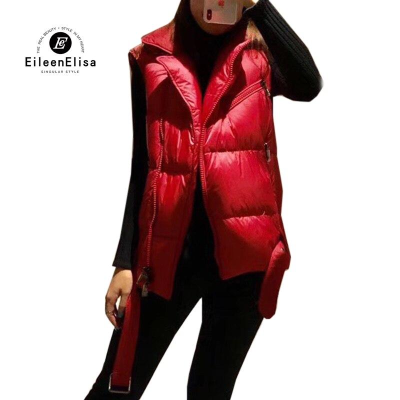 2018 Et Gilet rouge D'hiver Femme Femmes Manteaux Casual Noir Solide Nouveau Manteau Automne Chaud Noir C1qwdHH