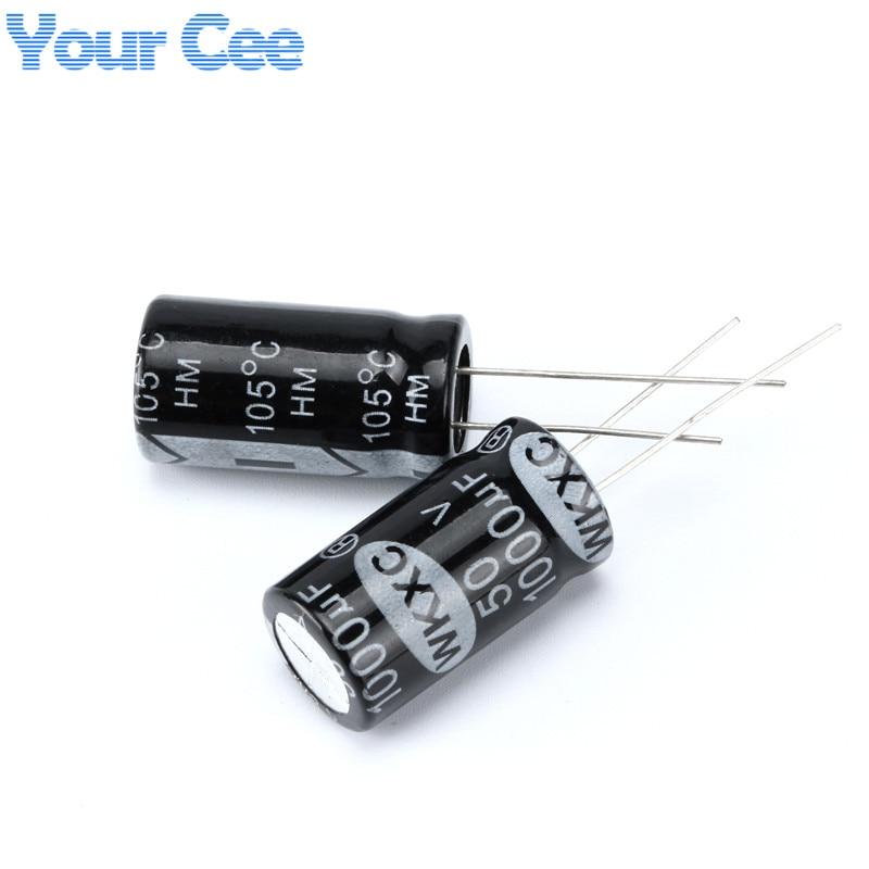 50 pcs Electrolytic Capacitors 50V 1000UF 13X25MM Aluminum Electrolytic Capacitor