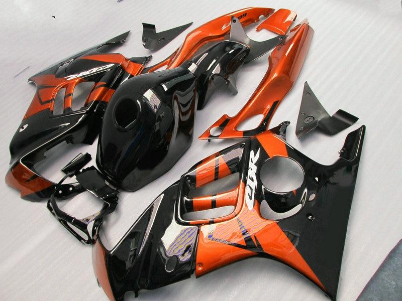 New hot moto parts Fairing kit for Honda CBR600 F3 97 98 burnt orange black fairings set CBR600 F3 1997 1998 FV25 new hot moto parts fairing kit for honda cbr1000rr 06 07 orange black injection mold fairings set cbr1000rr 2006 2007 ra15