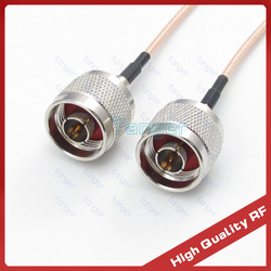 Hot Sale N male plug to male plug straight connector with 3feet RG316 RG-316 Coaxial Pigtail Jumper RF cable 40inch 100cm cable