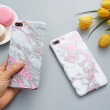 Golden Marble Phone Case iPhone 6 6s plus 7 8 plus