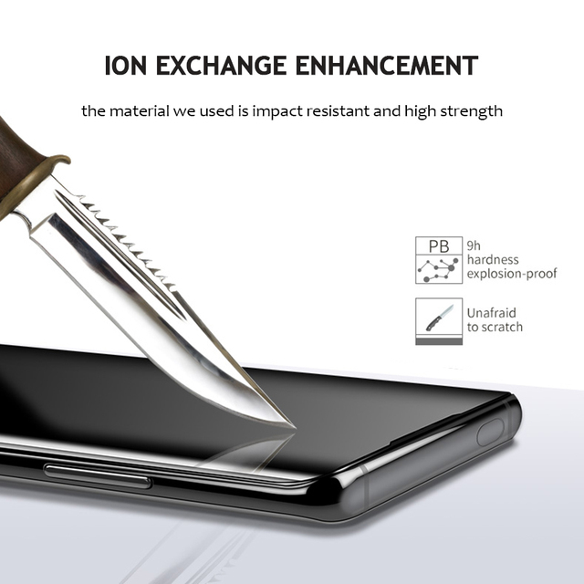 Vidrio templado de pegamento total líquido UV para OnePlus 7 Pro OnePlus 7T Pro Protector de pantalla cubierta completa para OnePlus 7T 7 Pro Glass