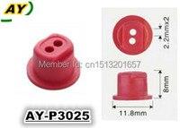 Livraison gratuite 500 pièces Injecteur de Carburant Pintle Cap pour Mazda 929 3.0L-V6 injecteur de Carburant kit de réparation (AY-P3025)