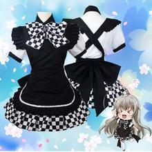 Nyarukosan cosplay vestido de batalla adulto Criada disfraces vestido de las mujeres la ropa del anime Japonés fanycy