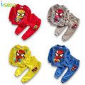 Hot Sale Children Boys Set  spiderman Clothes Set  Kids Sport Suit Full Sleeve Top + Pants Toddler Cartoon Clothing for 3-6Y