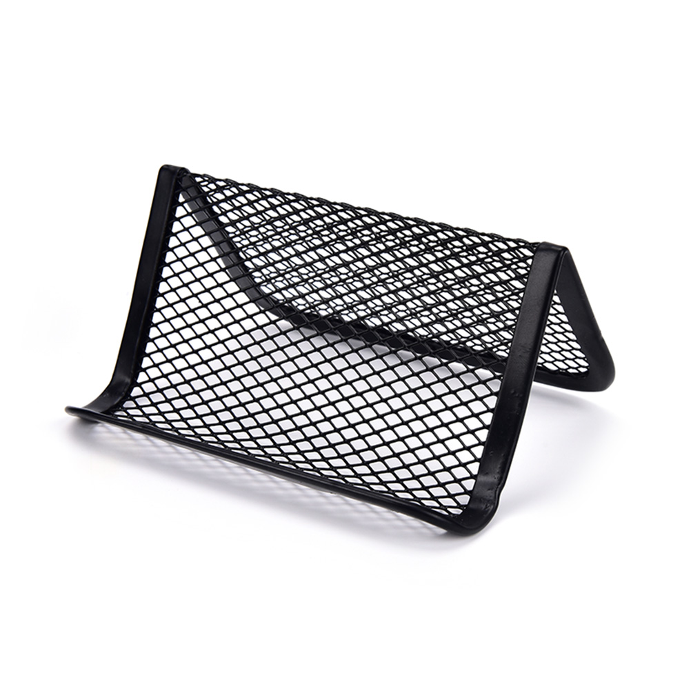 1pc Desk Shelf Box Card Holder Display Stand Business Card Holder Card Case Display Stand Phone Holder Office Supplies