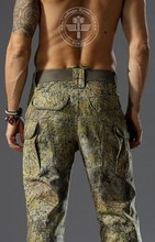 Meadow Terrain Ripstop tactical Men's pants Hunting Bionic Camo combat Pants Performance Pants