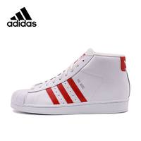 Original Adidas Authentic Superstar Leather Men's Skateboarding Shoes Sports Sneakers High Top Leisure New Arrival