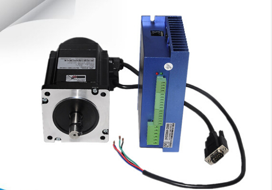 Closed-loop stepper Motor 8.5N.m Nema 34 Hybrid closed loop 2-phase stepping motor 86J18118EC-1000 and driver 2HSS86H