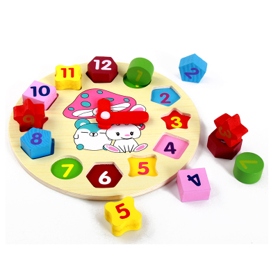 Digital clock Montessori mathematics teaching toy wooden math toys for kids baby brinquedos children toy fun games learning toy baby toys 1 10cm blocks digital stick wooden toys child educational toys teaching montessori math toy