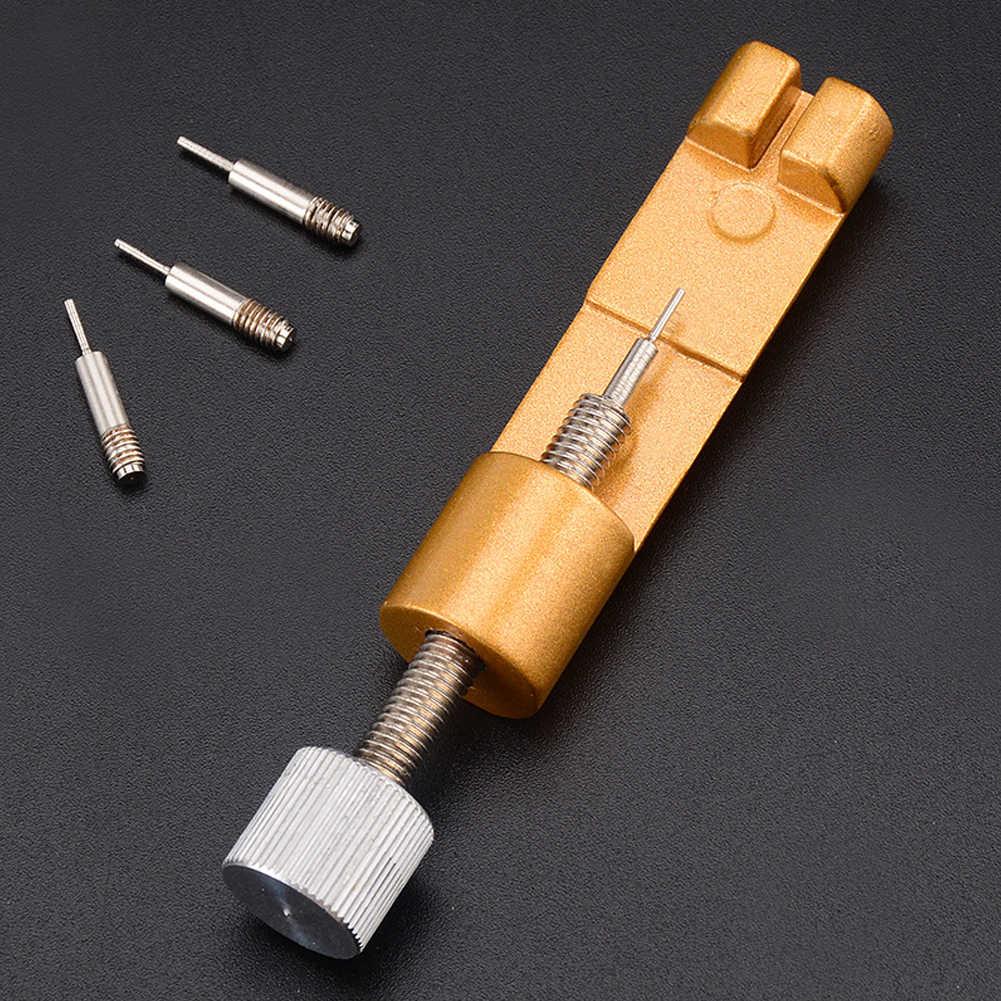 מתכת שעון כלים התאמת שעון רצועת כלי עם שעון פין בנד צמיד קישור פין כלי מסיר שרשרת פין Remover שמאי כלי
