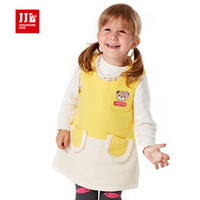 New 2015 Baby Dress Winter Sleeveless Baby Girl Clothes Brand Quality Round Neck Casual Dress Free