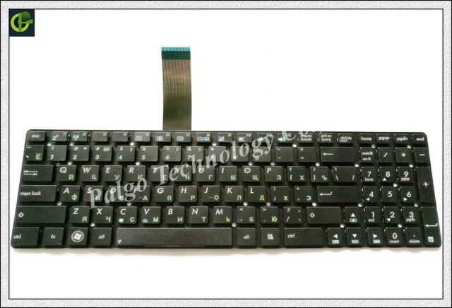 Russian Keyboard for ASUS 9z.NBUSW.00R 0KNB0-612NRU00 NSK-WA00R NSK-UGL0R 0KNB0-612HRU00 9J.N2J82.L0R RU Black