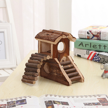 Wooden House Small Animal lovely Toys
