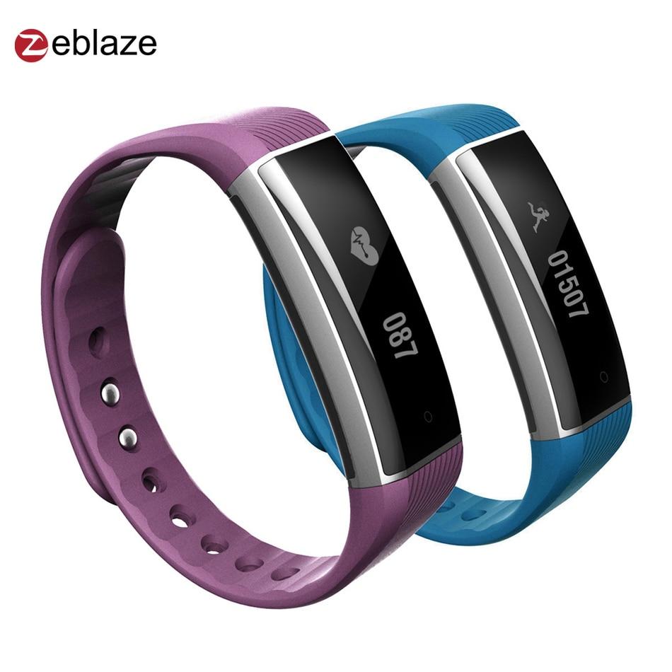 Smart Wristband Zeblaze ZeBand Plus Heart Rate Sleep Monitor Smart Sport Band Bluetooth Band for iphone