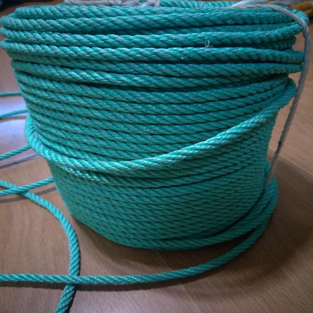 NEW 10m length of 8mm diameter black Polypropylene plastic type Rope