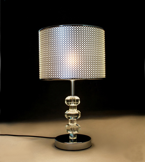 Special European top crystal table lamp modern minimalist ...