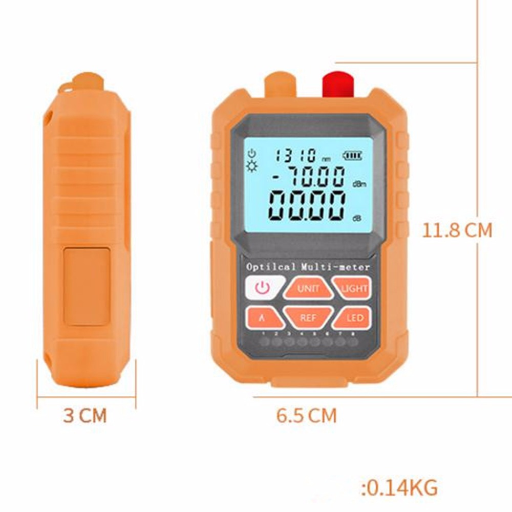 Image 3 - 3in1  Optical Power Meter Visual Fault Locator Network Cable Test  optical fiber tester, 15mw Visual Fault Locator-in Fiber Optic Equipments from Cellphones & Telecommunications