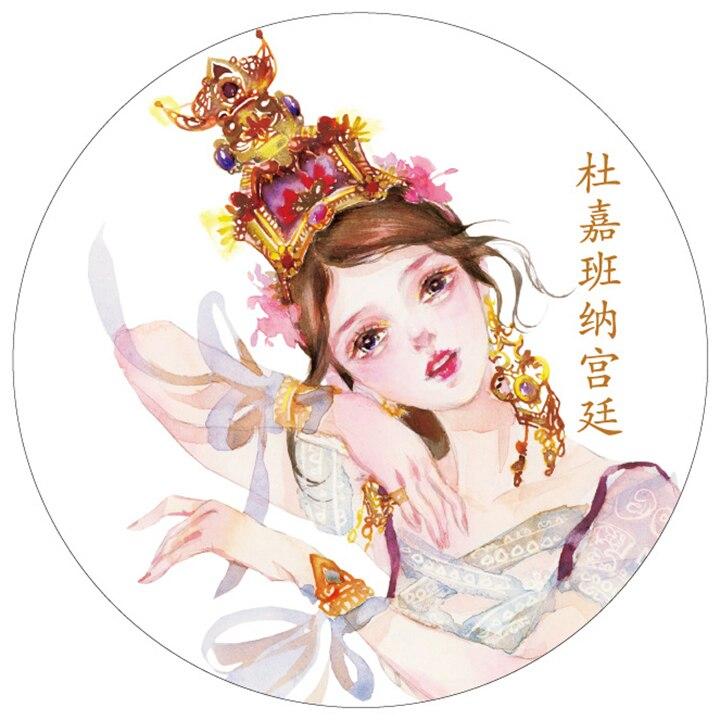 princess design decorative tape paper office adhesive tape washi masking tapes diy fita decorativa scrapbooking