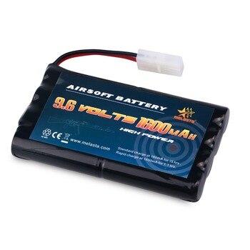 Melasta 9.6v AA 1600mAh NiMH Battery Pack with Tamiya Connector for RC Cars Boats RC Gadgets Airsoft Guns лоток для бумаг вертикальный металлический
