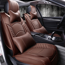 3D Styling Sport Car Seat Cover General Cushion For BMW 3 4 5 6 SeriesGT M3 X1 X3 X4 Suv High-fiber Leather