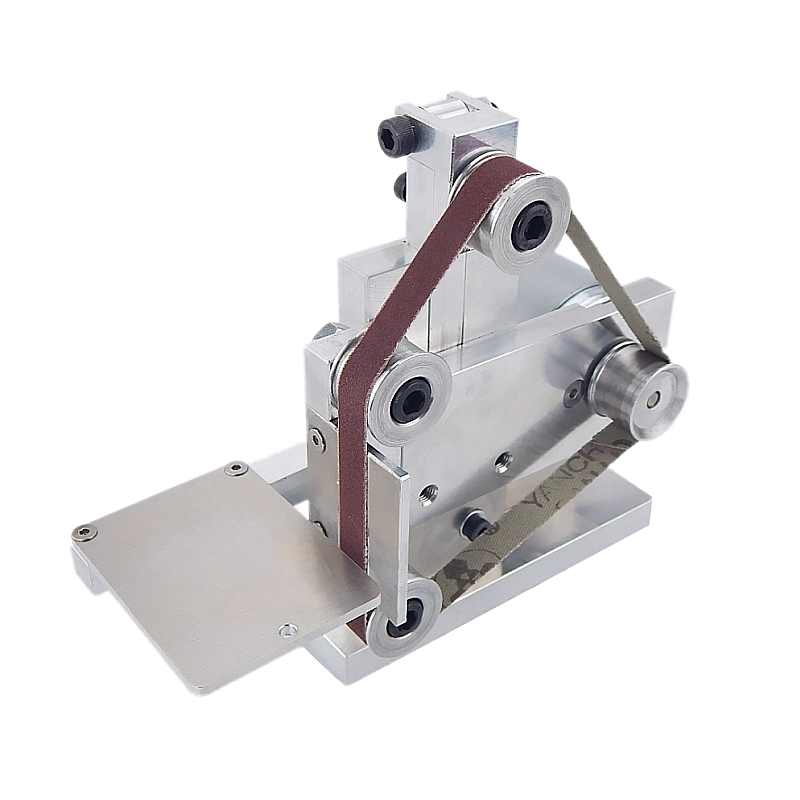 Three Minitype Mini Mini Belt Machine DIY Polishing Machine Grinding Machine Fixed Angle Sharpening Edge Machine Desktop