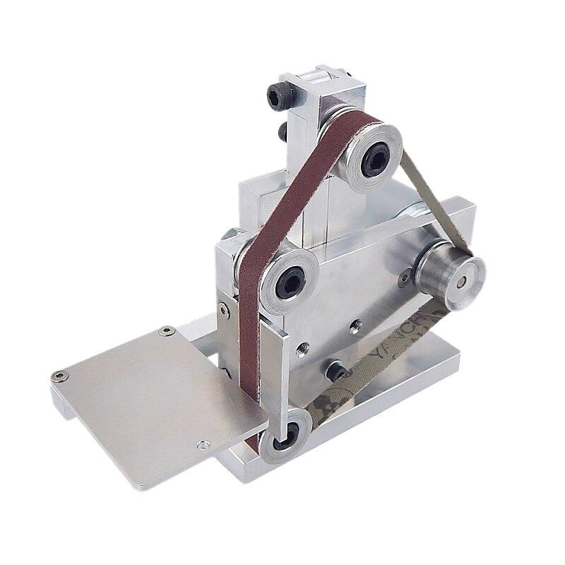 Three Minitype Mini Mini Belt Machine DIY Polishing Machine Grinding Machine Fixed Angle Sharpening Edge Machine Desktop