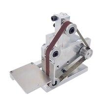 Três minitype mini cinto máquina de polimento diy máquina de moagem ângulo fixo afiação borda máquina desktop