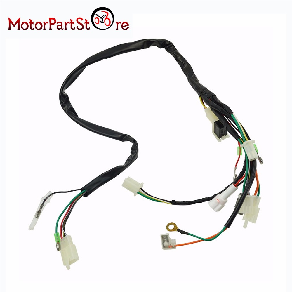 Buy Electrical Main Wiring Harness Wire Loom Plus Yamaha Connectors For Pw50 Pw 50 2 Stroke 50cc D20 From Reliable Suppliers