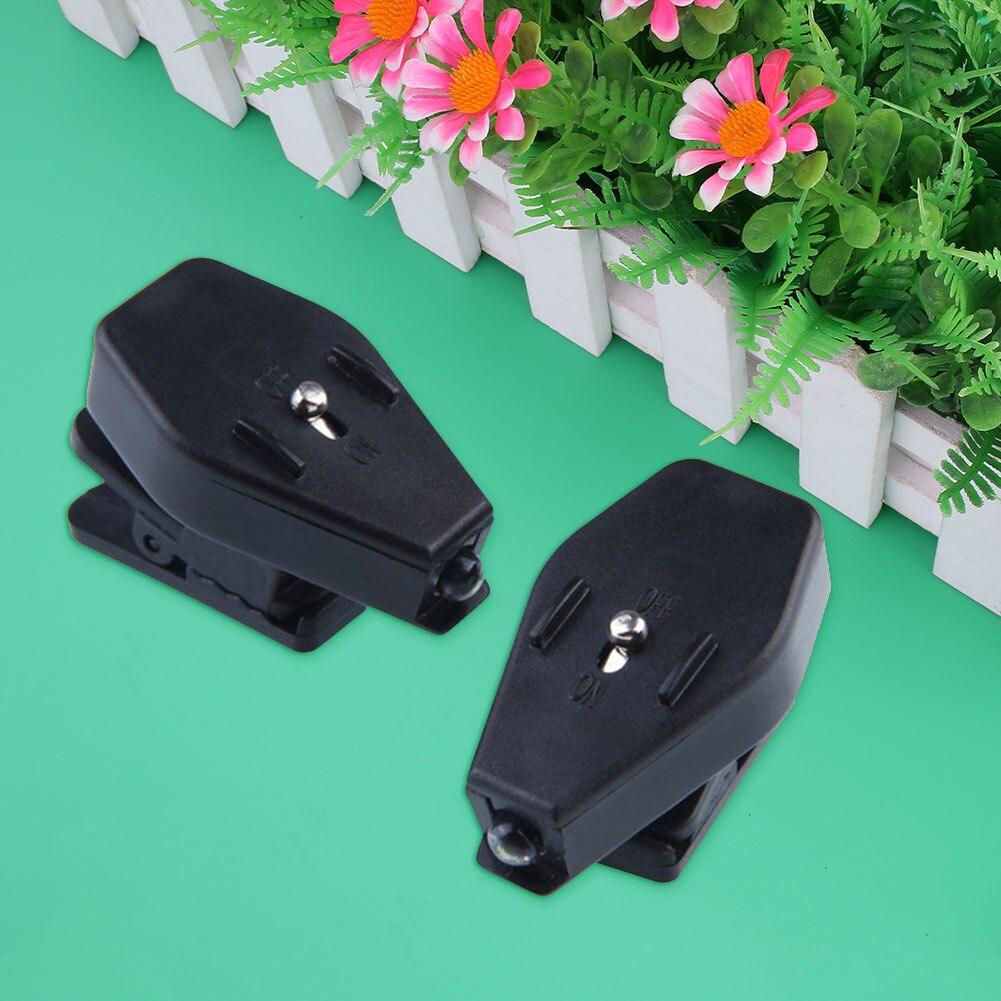 Mini Clip-on Grip մամլիչ LED լույսը պտտվում է ակնոցների ընթերցման համար Հատուկ պայծառ լույսեր Նավակի առաքում