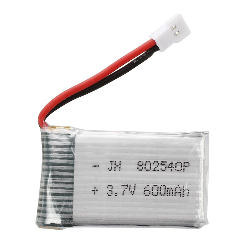 1 Pcs Upgraded 3.7V 600mAh 25C Lipo Battery for Syma X5C X5 RC Helicopter Accessories Spare Battery Parts