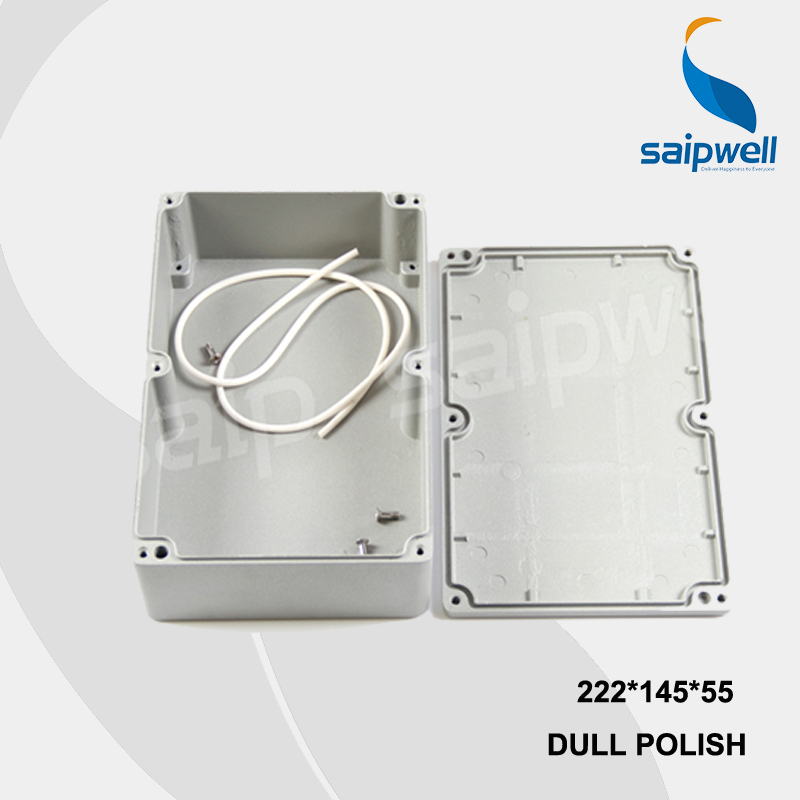 222*145*55mm SP-FA5 Industrial Waterproof Aluminium Box / Electrical Aluminium Enclosure With CE,ROHS 222 145 55mm sp fa5 industrial waterproof aluminium box electrical aluminium enclosure with ce rohs