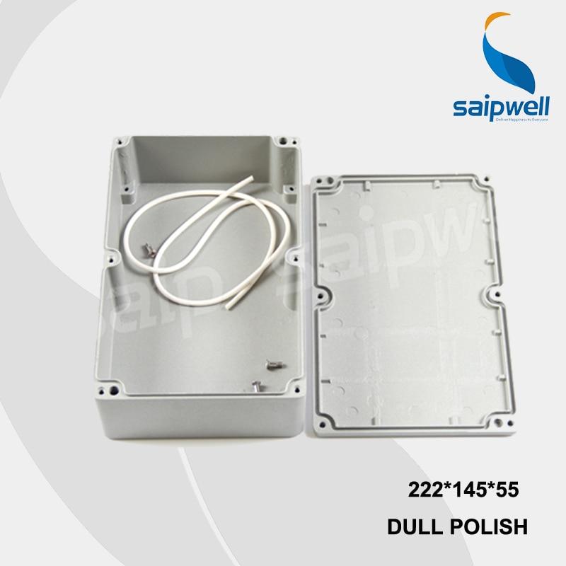 цена на 222*145*55mm SP-FA5 Industrial Waterproof Aluminium Box / Electrical Aluminium Enclosure With CE,ROHS