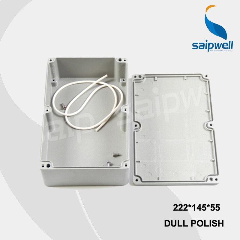 222*145*55mm SP-FA5 boîtier en Aluminium étanche industriel/boîtier en Aluminium électrique avec CE, ROHS