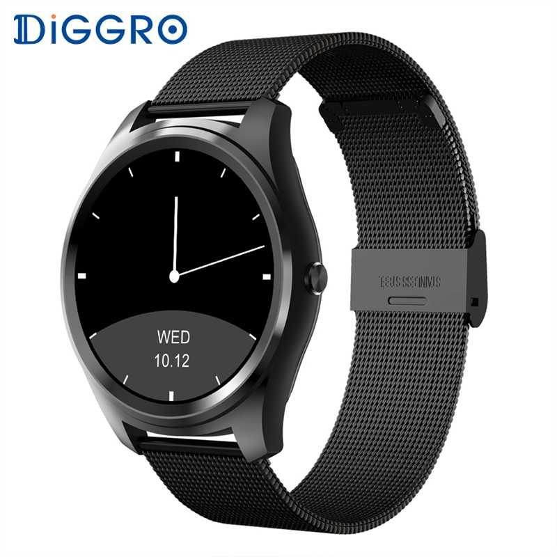 Diggro DI03 Smart Watch MTK2502C IP67 Waterproof Heart Rate