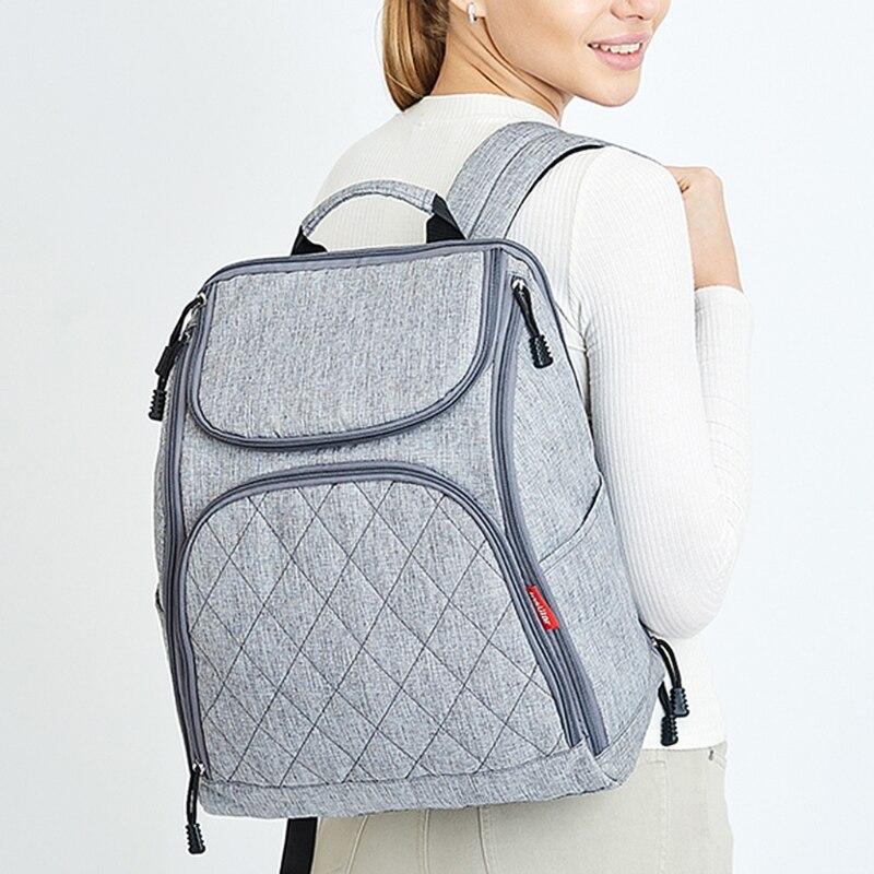 118A Multi-Functional мумия пеленки сумки детские путешествия рюкзак