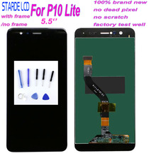 Starde 5.2 Inch Original LCD with Frame for HUAWEI P10 Lite Lcd Display Screen WAS-LX1 WAS-LX1A WAS-LX2 WAS-LX3+Tools