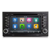 Capacitive Screen 7 Inch Two Din A4 Car DVD Player Audio Audi Radio GPS Navigation Bluetooth