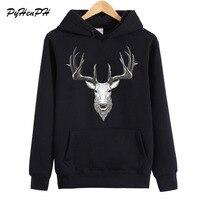 New Arrival Hoodies Women Fashion Deer Print Sweatshirt Autumn Winter Woman Fleece Hoodie Ladies Long Sleeve
