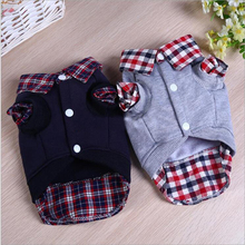 2017 New Warm Dog Clothes Small Pet Dog Coats Jackets Winter Puppy Hoodies Sweater Outfit for Dog Teddy Chihuahua Pet Clothing